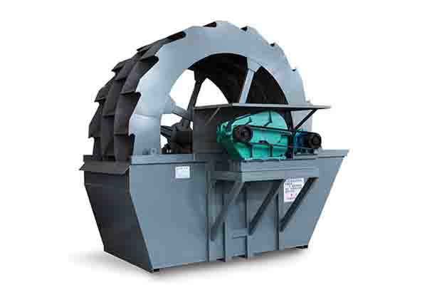 轮式洗砂机