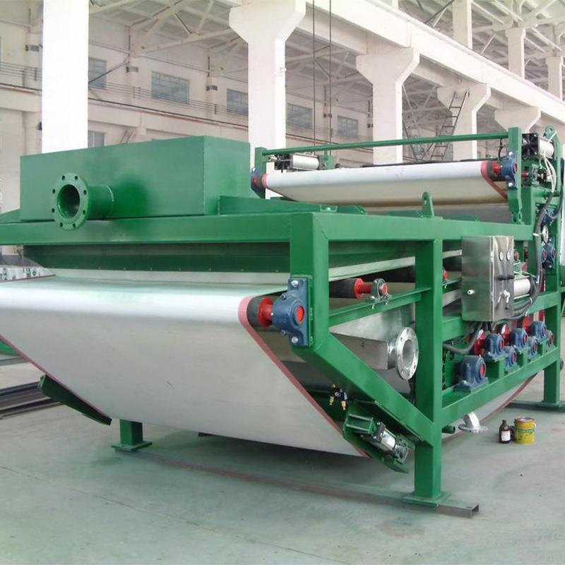 带式压滤机在环保工程项目应用广泛
